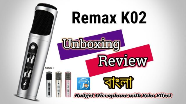 Remax K02 Microphone in BD