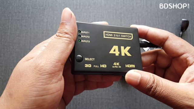 4K HDMI Switch in BD