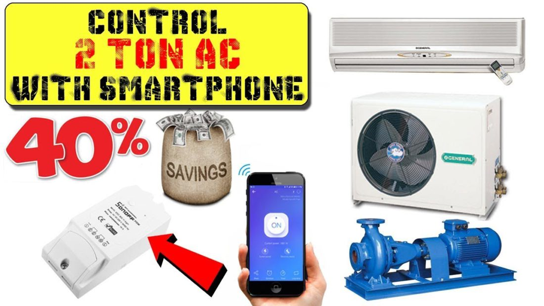 Control AC With Smartphone