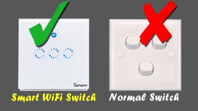 Sonoff Smart Switch Panel