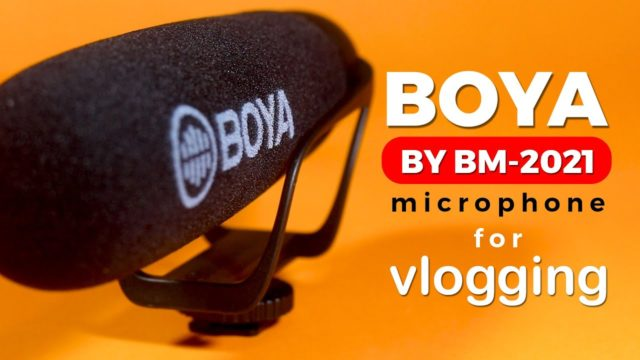 Super-Cardioid Shotgun Microphone- BOYA BY-BM2021