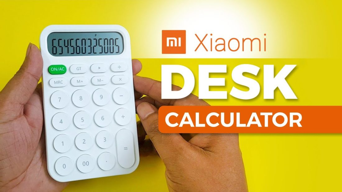 Xiaomi Calculator | Exclusive Mi Desk Calculator