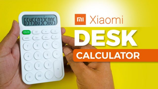 Xiaomi Calculator | Exclusive Mi Desk Calculator