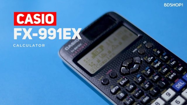 Casio FX-991ex Scientific Calculator- 3 Years Official Warranty